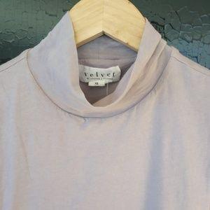Velvet XS Lavender Sleeveless 93% cotton top
